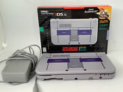 Nintendo 3ds Xl Super Nes Edition W Box, Charger, Pokémon Gold And Red