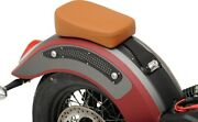 Bobber Smooth Sr Leather Pillion Pad Brown 0810-1992 For 15-20 Indian Scout