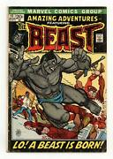Amazing Adventures 11 Gd 2.0 1972 1st App. Beast In Mutated Form
