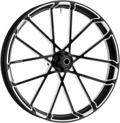 Arlen Ness Black Procross 21 X 3.5 Abs Front Wheel For 08-18 Harley Touring