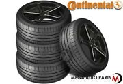 4 Continental Extremecontact Sport 235/40zr18 95y Xl Max Performance Summer Tire