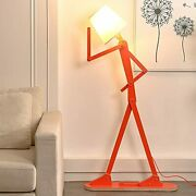 Hroome Cool Creative Floor Lamps Wood Tall Decorative Corner Reading Standing Sw
