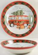 Certified International Home For Christmas Pasta Serving Bowl 11454761
