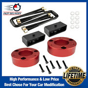 Leveling Lift Kit 3and039and039 Front + 2and039and039 Rear For 2007-2020 Chevy Silverado Sierra Gmc