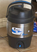 Bubba Keg 384 Ounces 3 Gallon Stainless Steel Water Jug Cooler Black Silver Used