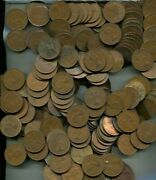 Great Britain Large Penny 2359 Mixed Coin Lot Copper