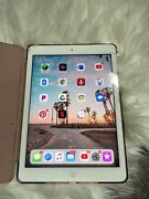 Apple Ipad Air 2 32gb,wi-fi,9.7in - Silver.bundle W/ Pink Case And Charger