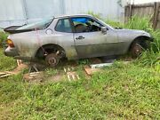 1989 Porsche 944 Manual Transmission Differential Axles In Body W Front Damage