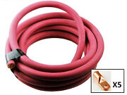 Ultra-flex Car Battery/welding Cable - 4/0 Gauge Red - 250 Feet - And 5 Lugs