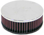 K And N Rc-2440 Universal Round Straight Air Filter
