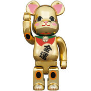 400 100 Set Be Rbrick Beckoning Cat Gold Plated Fortune Two