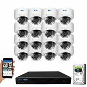 16 Channel 4k Nvr 5mp Outdoor Indoor Security Camera System - 16 X Dome 5mp