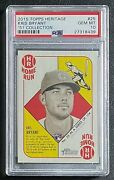 2015 Topps Heritage And03951 25 Kris Bryant Rookie Card Rc Psa 10 Gem Mint