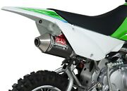 Enduro Rs2 Carbon Fiber S.s. Full Exhaust Yos. 2430522 For Klx110/l And Drz110