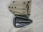 Usgi Military E-tool Entrenching Tool And Cover Issue Nsn 5120-0-878-5932 Nos