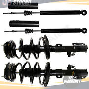 For Toyota Sienna 8 Seats 2004 2005 2006 Front Struts And Coil Spring Rear Shocks