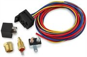 Msd Ignition 89615 Temperature-controlled Electric Cooling Fan Harness And Relay K