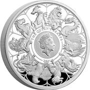 1oz Silver Proof Coin - The Queens Beasts Completer 2021 Unc