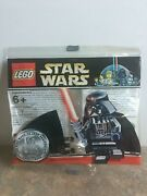 Nip Lego Star Wars Limited 10th Anniversary Chrome Darth Vader Sealed In Package