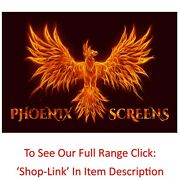 Phoenix Screens Soundmax8k 200 Acoustic Cloth Thin Fixed Frame Projector Screen