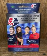2021 Nwsl Official Trading Cards Premier Edition Hanger Box Womens Soccer Qty