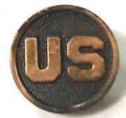 Wwi Us Army Infantry Tunic Jacket Us Collar Disc