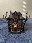 Bath And Body Works-halloween Haunted House Projector-light-up Wallflower Plug-in