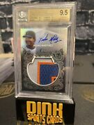 2021 Topps Sterling Pedro Martinez Jumbo Patch Auto /5 New York Mets Collectors