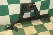 03-09 H2 Black Steel External Spare Tire Carrier Frame Support Assembly Hinge Oe
