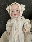 Antique Kestner Bisque Baby Jean Doll Hildaandrsquos Sister Made In Germany 16andrdquo