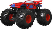 Hot Wheels Monster Trucks 124 Scale Vehicles, Collectible Die-cast Metal Toy Tr
