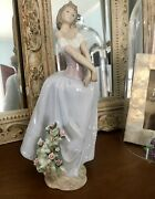 Lladro Figurines Collectible Buy It Now Lady In Love 6712
