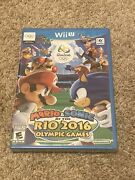 New Sealed Mario And And Sonic At The Rio 2016 Olympic Games Nintendo Wii U 2016