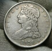 1838 Capped Bust Half Dollar 50 Cents Nice Coin Free Shipping 539