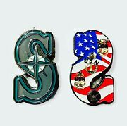 Seattle Mariners - Cpo Chief Challenge Coin. Mlb Series. Limited Edition.