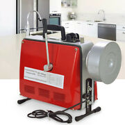 Electric Power Machine Auger Cable Drain Clog Cleaner Snake Pipe Sewer 400 R/min