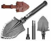 Zune Lotoo Survival Camping Shovel Folding Tactical Gear Military,24 In 1 Multif