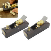 2piece Vintage Wood Hand Planes Carpenter Tool Woodworking Joinery 2