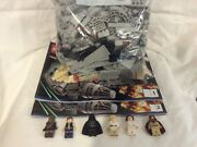 Lego Star Wars Millennium Falcon 7965, Mostly Complete W Instructions And Figs