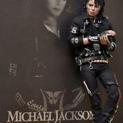 Hot Toys 1/6 12 Inch Size Michael Jackson Figure Bad Version Used From Jpn