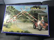 Rare W Germany G Scale Pola Lgb 940 Operating Level Crossing Gate Barriers Set