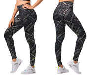 Zumba Happy High Waisted Ankle Leggings - Iridescent Xs, S, M, L, Xl, Xxl