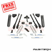 Fabtech 6 4 Link System W/ Shocks For Ford F250 4wd 2008-16