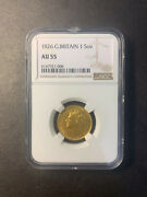 Great Britain George Iv Sovereign 1826 Lustrous About Uncirculated Ngc Au55