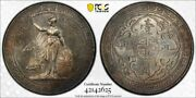 Great Britain Silver Trade Dollar 1930 Bombay Toned Uncirculated Pcgs Ms63