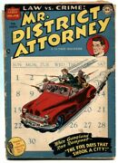 Mr. District Attorney 1 1948-dc-first Issue-nbc-comic Book G+