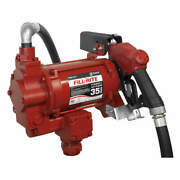 Fill-rite Fr310vb Ac Pump With Auto Nozzle,diesel,3/4