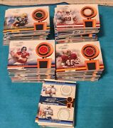 2002 Playoff Piece Of The Game Used Jersey And Ball And Pants Complete Base Set