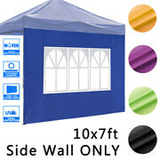 1pcs Canopy Side Wall Sidewall Panel With Windows Fits 10x10ft Gazebo Patio Tent