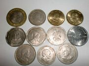 India Coins Lot - 11 Commemorative Coins-great Men-some Rare-1985-2015 11bkiii2